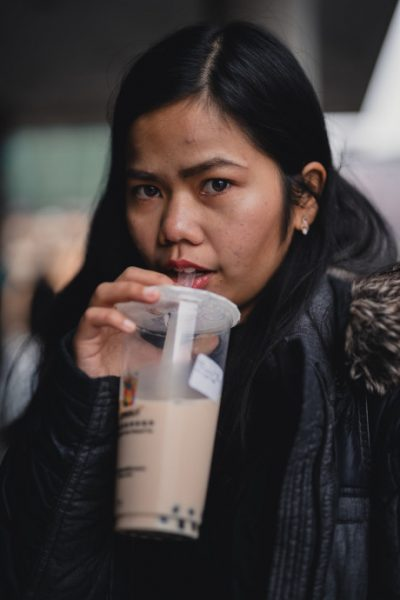 Girl With Bubble Tea