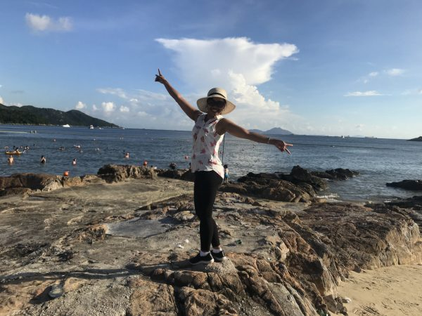 AJ Lamma Island Hung Shing Yeh Beach