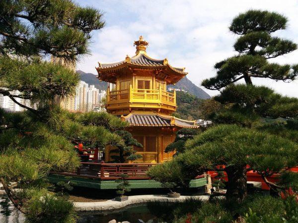 Hong Kong Chi Lin Nunnery Garden