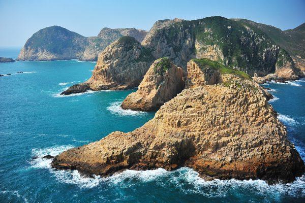 Hong Kong Geopark Basalt Island