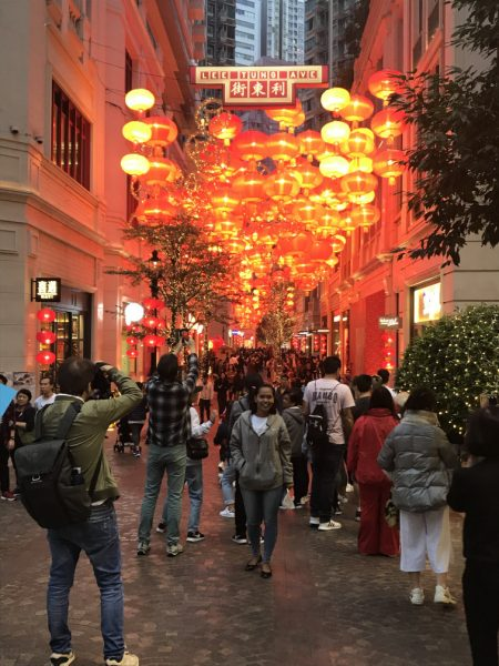 Lee Tung Avenue Spring Lantern Festival Hong Kong AJ